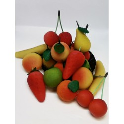 Fruits en pâte d'amande