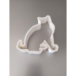 MAXI cutter cookies chat 3D