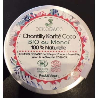 Chantilly Karité au Monoï